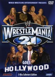 WWE レッスルマニア21 DISC 1