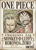 "ONE PIECE CHARACTERS Log ""ルフィ&ゾロ"""